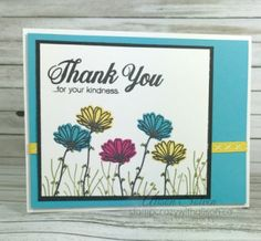 Hello Stampers, It's Border Buddy Saturday and it's Alison here today. I'm so excited that the Daisy Punch is back in stock and that means the Daisy Delight Bundle is available again to order at discount. The Daisy Delight. Daisy Delight Stampin' Up, Hand Stamped Cards, Stampin Up Catalog, Stamping Up Cards, Christmas Tag, Flower Cards, Homemade Cards, Thank You Cards, Cardmaking