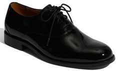 $140, Black Leather Oxford Shoes: Florsheim Kingston Patent Leather Oxford. Sold by Nordstrom. Click for more info: https://lookastic.com/men/shop_items/307805/redirect