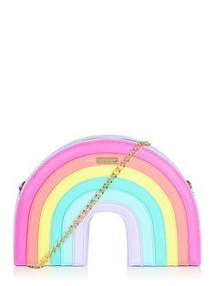 Rainbow Cross Body Bag