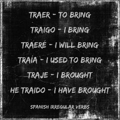 A little of Spanish