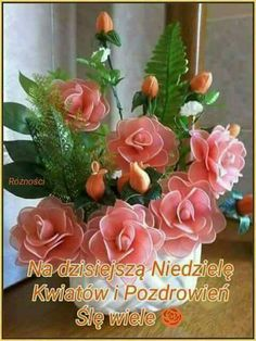 Silent Love, Flowers For You, Good Morning Good Night, Happy Valentines Day, Beautiful Pictures, Album, Polish, Good Morning, Pictures
