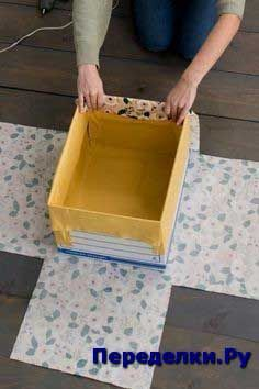 How to make DIY fabric-wrapped storage bins,How to make DIY fabric-wrapped storage bins . How to make DIY fabric-wrapped storage bins, Fabric Storage Boxes, Fabric Boxes, Craft Storage, Storage Ideas, Boxes For Storage, Organization Ideas, Storage Containers, Decorative Storage Boxes, Scrap Fabric