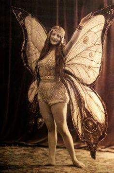 005 Ziegfeld girl Edith Pierce Vaudeville, Burlesque