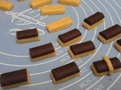 Cookie Recipes, Snack Recipes, Dessert Recipes, Snacks, Desserts, Chocolate Sticks, Chocolate Truffles, Recipe Steps, Banana Chips