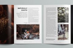 Magnolia Magazine by Moscovita on @creativemarket