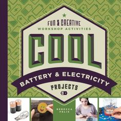 Cool Battery and Electricity Projects : Fun and Creative Workshop Activities by Rebecca Felix Hardcover) for sale online Project Free, Project Board, Woodworking Projects That Sell, Woodworking Tools, Woodworking Apron, Lathe Projects, Bow And Arrow Set, Wood Router, Wood Lathe