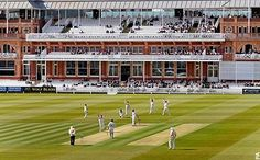 Cricket at Lord's    Doesn't really get better than a test match at Lord's.  Cricket - my first love