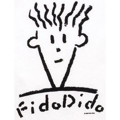 Fido dido... I was NUTS about Fido Dido stuff