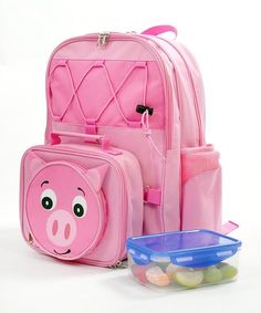 Pig Backpack by Pretty In Pink: Homeware on #zulilyUK today!