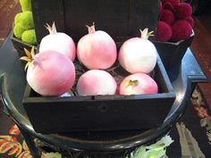 pomegranate surprise balls by Anandamayi Arnold at Tail of the Yak, via Paris Hotel Boutique Journal