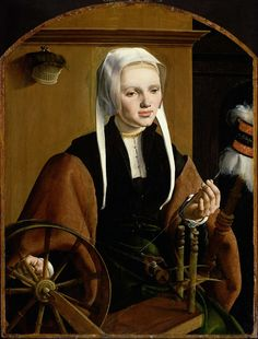 Maarten van Heemskerck - Portret van een vrouw, mogelijk Anna Codde - c.1529