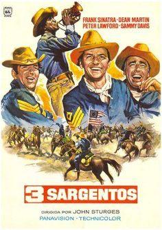 Tres sargentos (1962) DVD   clasicofilm / cine online