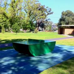 Great public table tennis table. Edinburg gardens, north Fitzroy Melbourne.
