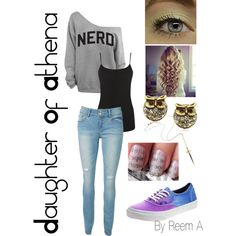Daughter of Athena Casual Outfit, Cabin 6, Percy Jackson Inspired Outfit