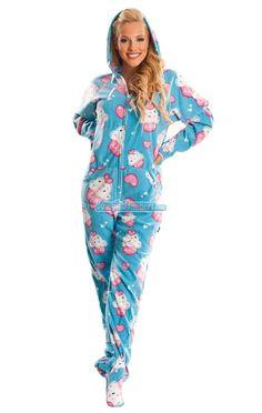 CupCake Footed Pajamas<3