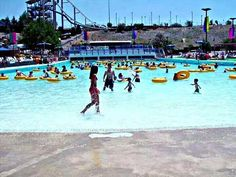 The Beach -  Almost died in that wave pool.