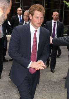 Prince Harry in New York City 14 May 2013
