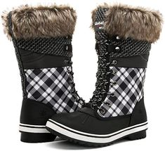 16 styles of chic snow boots for this winter | GLOBALWIN Trendy Women Winter Boots | Waterproof Best Ladies Winter Boots Winter Fashion Boots, Winter Fashion Casual, Casual Winter Outfits, Fall Fashion, Clarks Shoes Women, Vans Shoes Women, Cute Snow Boots, Winter Snow Boots, Yezzy Shoes Women