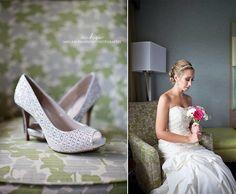 Wedding shoes. Wedding inspiration. Wedding photography. Bridal photography. Bride. Bridal portraits.
