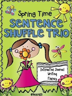 These Spring themed activities include a mini book which can be used with your reading group, interactive journal printables, and a Sentence Shuffle Center. The Sentence Shuffle Center can be set up as a literacy center or a file folder. It is a great activity for your early finishers! Reading level: 1.3 (paid)