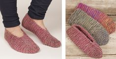 Knitting Patterns Slippers Create these magnificent Side Step Knitted Garter Slippers as your next knitting project. If you wou… Loom Knitting, Knitting Socks, Knitting Patterns Free, Free Knitting, Knit Socks, Stitch Patterns, Easy Crochet, Crochet Hooks, Tejidos