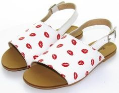 Lips Sandals