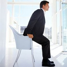 Chair stand: If you have rheumatoid arthritis, pain may cause you to avoid exercise, but skipping it isnt a good idea. Here are 16 gentle workouts for people with arthritis. Exercise For Rheumatoid Arthritis, Arthritis Exercises, Rheumatoid Arthritis Treatment, Types Of Arthritis, Gentle Workout, Aerobics Classes, Suspension Training, Improve Posture, Workouts