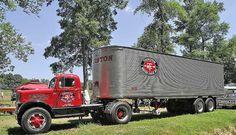 White Thurston Motor Lines Big Rig Trucks, Toy Trucks, Semi Trucks, Pickup Trucks, Truck Drivers, Mack Trucks, Antique Trucks, Vintage Trucks, Truck Transport