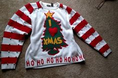 Easy DIY Grinch Sweater: 6 Steps (with Pictures)