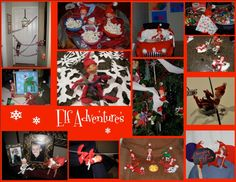 Elf Adventures    Our family loves the tradition of Magic Elves.  Even if my kids know it's not real they continue to play along because they have so much fun