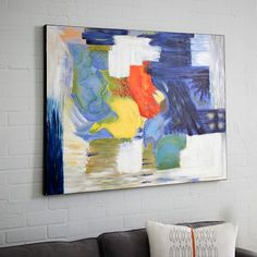 Sarah Campbell Abstract Wall Art - Breakthrough | West Elm