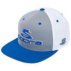New 2014 Cobra Golf Men's Tri-Color Performance Snapback Flat Bill Adjustable Hat/Cap, COLOR: Monaco Blue Cobra http://www.amazon.com/dp/B00I0Y0SDW/ref=cm_sw_r_pi_dp_DuM9tb1AKTQKC