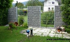 Gabionen / ohne Pfosten, Zaunteam Breisgau, Gutach-Oberspitzenbach, 79199 Kirchzarten