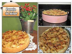 Panela do Leitor: Torta com Rosas de Maçã