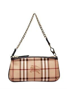 Burberry Clara Haymarket Checked Shoulder Bag on shopstyle.com