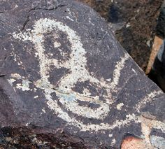Three Rivers Petroglyph site near Alamogordo, NM.