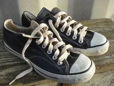 ea7a01ebb1ad Converse Coach Black Label All Stars Sneakers Vintage USA Mens 6 ~ Classics!