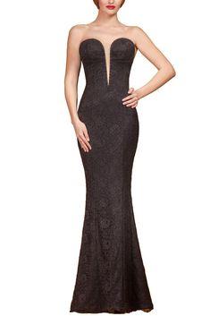 CIELLE COUTURE - ROCHIE LUNGA NEAGRA CU CRISTALE SWAROVSKI Swarovski, Mermaid, Couture, Formal Dresses, Fashion, Dresses For Formal, Moda, Formal Gowns, Fashion Styles