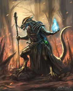 Chyv Imrin, dragonborn sorcerer