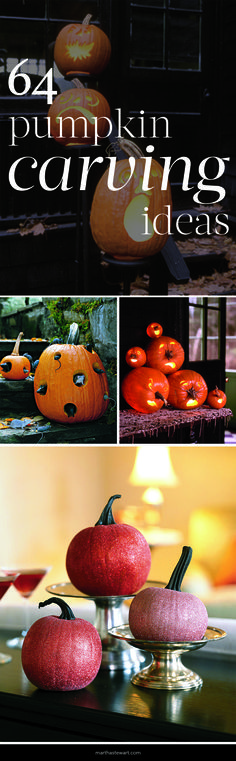 64 Pumpkin Carving Ideas | Martha Stewart Living