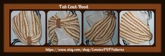Tab CowlHood Tutorial by ConniesPDFPatterns on Etsy, $10.00
