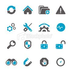 Internet & Web Icon Set | Concise Series Royalty Free Stock Vector Art Illustration