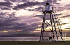 Silloth Light Tower on the Solway Firth Cumbria, Lake District, Family History, Lighthouse, Bees, Landscapes, Coast, British, Tower