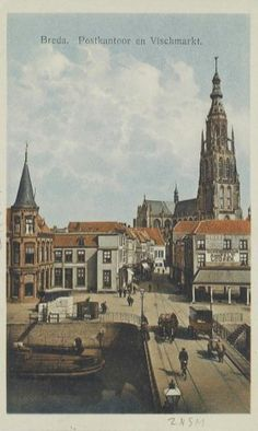 Vismarkt rond 1900