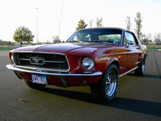 1967 Mustang Coupe 289 2v I had one that looked almost like this one. I miss that car.