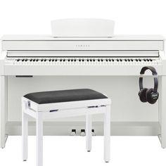 Yamaha CLP535 Clavinova Digital Piano; Satin White  sc 1 st  Pinterest & 979 Yamaha CLP525 Clavinova Digital Piano For Sale - UK Pianos ... islam-shia.org