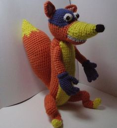 Fox Swiper  pdf Amigurumi Crochet Pattern by mashutkalu on Etsy, $5.00  I need this for kelly she loves swiper. !