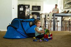 Baby Nook Beach Tent (Includes Inflatable Mat) - modFamily