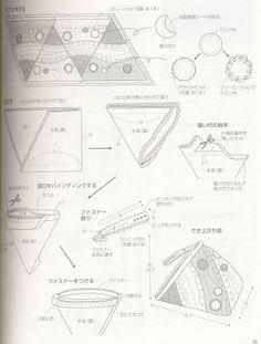 monedero triangular - country- moulin - Álbumes web de Picasa