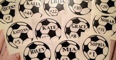 Personalized Soccer Decal Custom Car Decal | Cars, Trucks and Soccer